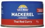 1 Free Sole Mare Shredded Mackerel 95g @ Coles (Flybuys Req)