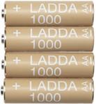 IKEA Ladda Rechargeable Battery 1000mAh, 4pk $4.99