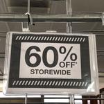 [VIC] 60% off Storewide @ Rivers (Horsham)