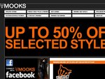 Everything 50% off at Mooks Online