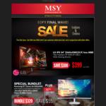 "MSY - Monitors and Peripherals - LG IPS 34"" 2560x1080 $399, 40% OFF Gamdias Peripherals"