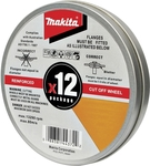 Makita Cutting Discs 125mm - 12 Pack $10.85 (Was $16.90) @ Bunnings