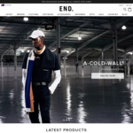 Free Shipping on Orders over $90 (Usually over $300) e.g adidas Ultraboost from $139 Delivered @ END Clothing