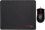 HyperX Pulsefire Gaming Mouse & Fury S Mouse Pad (Medium) Combo $29 + Delivery or Free Pickup @ Mwave