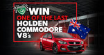 Win a 2017 Holden Commodore V8 Worth $57,001 from Shannons