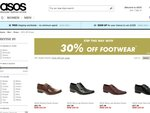 30% off Lots of Shoes as ASOS with Free Shipping