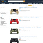 Sony DualShock 4 Controller $59.28, Samsung T5 Portable SSD 500GB $148.99 + Delivery (Free with Prime) @ Amazon US via Amazon AU