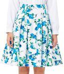 Floral Print Pattern Cotton Vintage Style Women's Skirts (14 Types) AU $8.21 @ Grace Karin