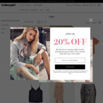 Up to 50% off Selected Clothing (Cami Tops from $4.98, Shoulder Tops $7.48) @ Valleygirl