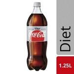 Coca-Cola Diet Coke 1.25l, Diet Caffeine Free Coke $1.42 (VIC), $1.60 @ Coles