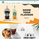 Starbucks 50% off Most Food Items (after 6pm)