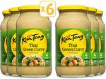 6x KanTong Cooking Sauce - Thai Green Curry 485g or Satay Chicken 505g $9.80 + Delivery (Free with Prime/ $49 Spend) @ Amazon AU