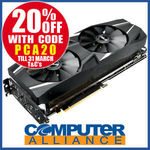 ASUS RTX2070 8GB DUAL Gaming PCIe Video Card $639.20 + Delivery or Free w/eBay Plus @ Computer Alliance eBay