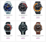Inventory Clearance Sale: Seiko 5 Sports Automatic SRPC51K $179, SRPC57K $199, SRPC59K $175 Delivered & More @ Starbuy
