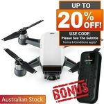 [eBay Plus] DJI Spark Alpine White Combo $527.08 Delivered @ Shopping Express eBay