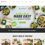 Youfoodz: $20 off ($59 Spend), 25% off Meal Kits, Early Winter Meals for $7.95