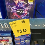 [PS4] PlayStation VR Worlds $10 @ Target (Instore Only) Perth City