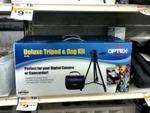 Target: 'Optex' Tripod & Bag Kit for $9.88