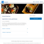 AmEx Statement Offers -  Rockpool Dining Group Spend $100, Get $20 Back [Capped] | Mr Porter: Spend GBP300, Get AUD100 Back