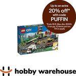 LEGO City Cargo Train (60198) $175.88 Shipped at Hobby Warehouse eBay