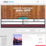 Hilton Flash Sale 40% off - Japan, Korea and Guam
