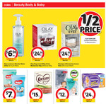 1/2 Price All Olay Skincare, OGX Hair Care, Selected Colgate @ Coles