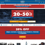 BCF: 20-50% off for Cyber Monday, Free C&C or + Delivery