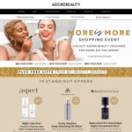 $20 Adore Beauty Voucher for Every $99 Spend ($84 Spend Using $15 off Coupon) + Free Delivery