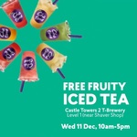[NSW] Free Fruity Iced Tea @ Chatime, Castle Hill