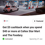 Caltex $5 Cashback for $40 Spend - CommBank App Rewards