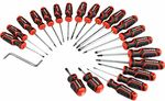 ToolPRO Screwdriver Set - 22 Piece $10 | ToolPRO Folding Lock Back Utility Knife $5.59 @ Supercheap Auto