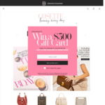 Win a $500 Gift Card from Cosette