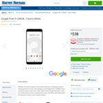 Google Pixel 3 64GB White $488 (Sold out), 128GB $538 C&C (Or + Delivery) @ Harvey Norman