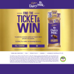 Win 1 of 443 Cash Prizes ($500, $1000 or $60,000) [Purchase A Specially Marked 180g Block of Cadbury Chocolate from Coles]