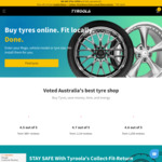Tyroola 15% off on All Tyres