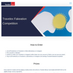 Win a Travelex Money Card Loaded with $500 or 1 of 5 Weekly $100 Prizes from Travelex