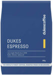 Dukes Espresso Blend Coffee 250g & Hunted+Gathered Chocolate (45g) $12.80 + Delivery (Free for Some VIC) @ Dukes Coffee Roasters