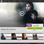 [PC] DRM-free - A Plague Tale: Innocence $20.39/Unworthy $7.99/Iconoclasts $7.49/Craft the World $5.79 - GOG