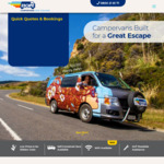 NZ: Campervan Rentals from $15 a Day (Min Period 14 Days) until Sep 30 @ EscapeRentals