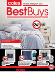 Coles Best Buys New Specials - $79.99 Weighted Blanket and Others (Limited Stores)