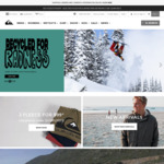 Free Delivery (+ up to 50% off Sale Items) @ Quiksilver Boardriders Club