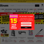 [VIC] 10% off and No Minimum Spend Free Shipping (Conditions Apply) @ House.com.au