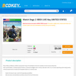 [XB1] Watch Dogs 2 $15.30, Grand Theft Auto V Premium Ed $22.96, Assassin's Creed Origins $18.36 (US Accounts) + More @ Bcdkey