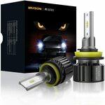 Muson H11 H8 H9 Car LED Headlight Bulbs $19.79 Post + (Free $39+/Prime) @ Muson AMR Amazon