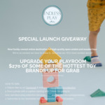 Win a Share of $270 Worth of Toys from Endless Play Collective