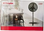 Dimplex 50cm High Velocity Pedestal Fan, Matte Black, $52.10 Shipped @ Amazon AU