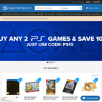 [PS4, PS5] Save 10% on Purchase of Any 2 PlayStation Games @ OzGameShop
