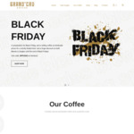 40% off Coffee + Delivery (Free with $50 Spend) @ Grand'Cru Coffee