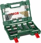 Bosch 91-Piece V-Line Titanium Drill Bit and Screwdriver Bit Set $29.90 + Delivery (Free with Prime) @ Amazon AU