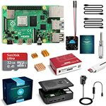 Raspberry Pi 4 Model B Complete Starter Kit 4GB RAM & 32GB MicroSD Card $119.99 / 64GB $125.59 Delivered @ Globmall AU Amazon